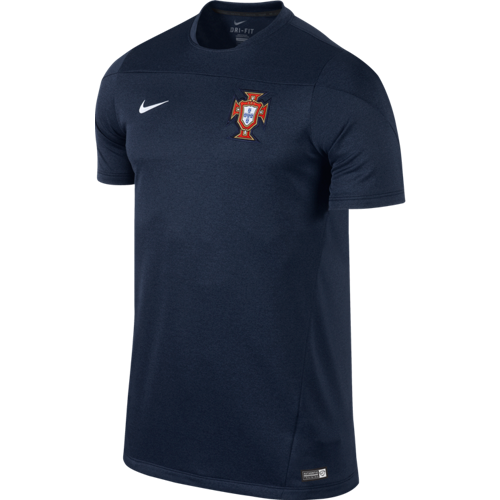 Portugal 2014 Squad Training Navy Top