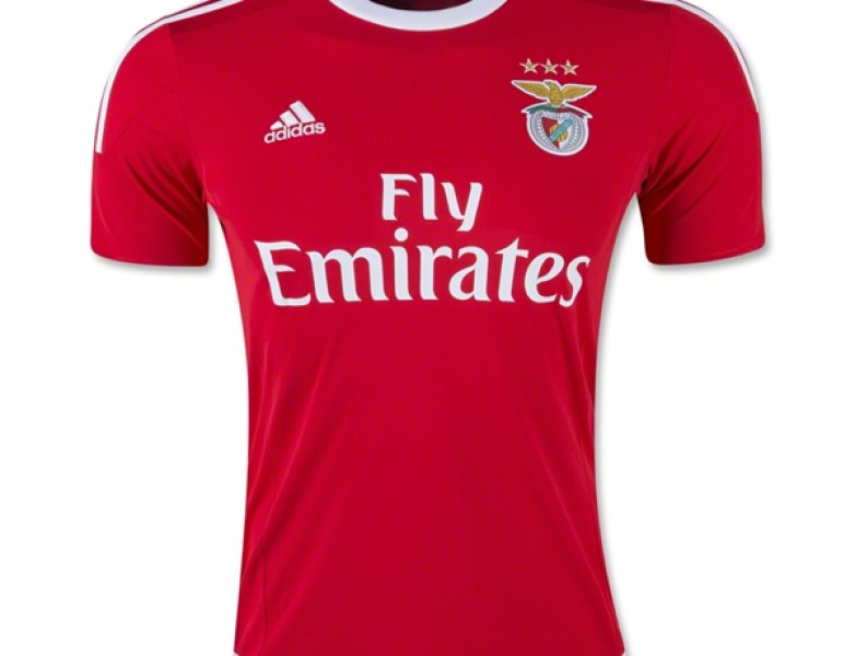 Adidas SL Benfica 2015-16 Home Jersey