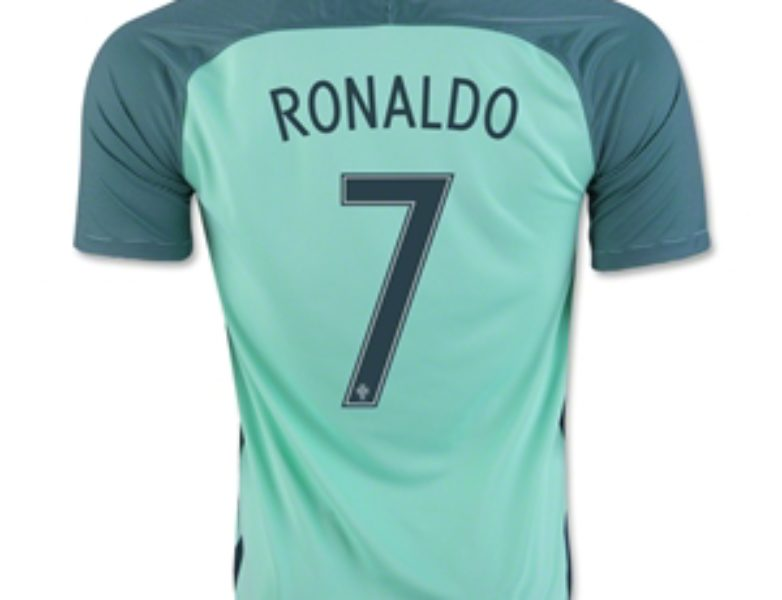 Nike Portugal Away Jersey 2016/17 Youth Ronaldo
