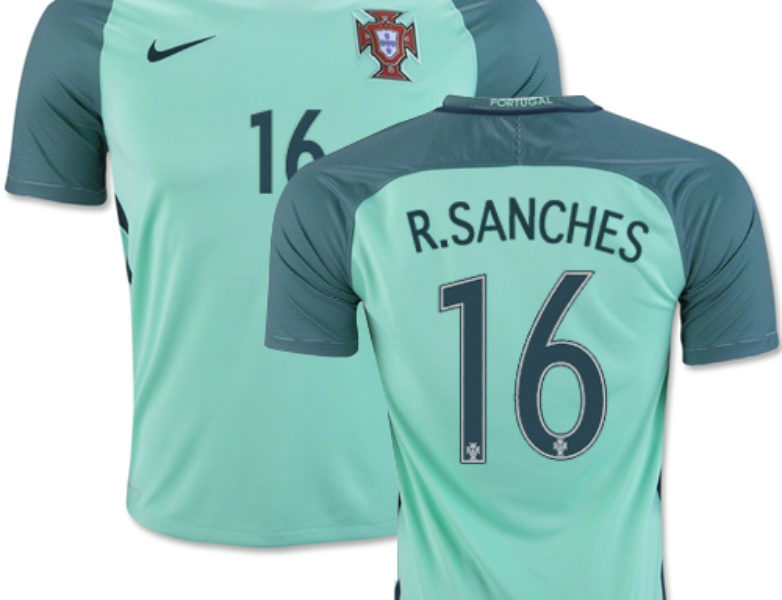 Nike Portugal Away Jersey 2016/17 Renato Sanches