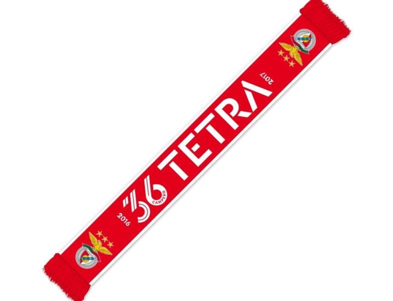 SL Benfica Red Scarf 36 Tetra