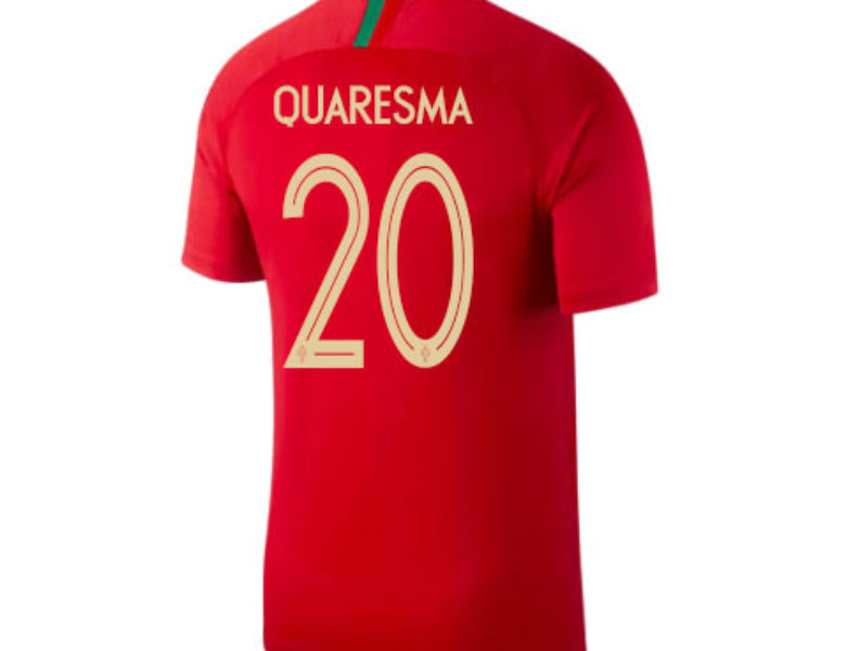ad146622925 Nike Portugal 2018 Home Quaresma  20 Adult Jersey. Top Rated Products