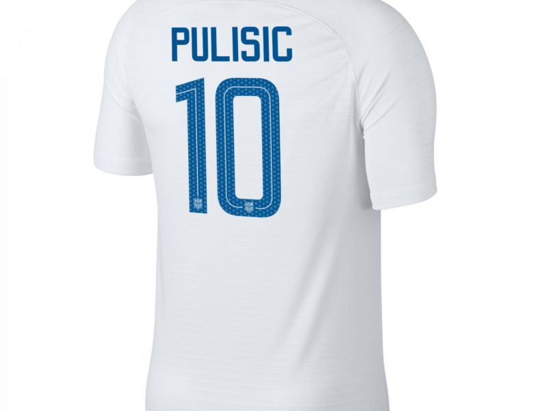 ac8aca990c7 USA 2018 19 Pulisic  10 Youth Home jersey